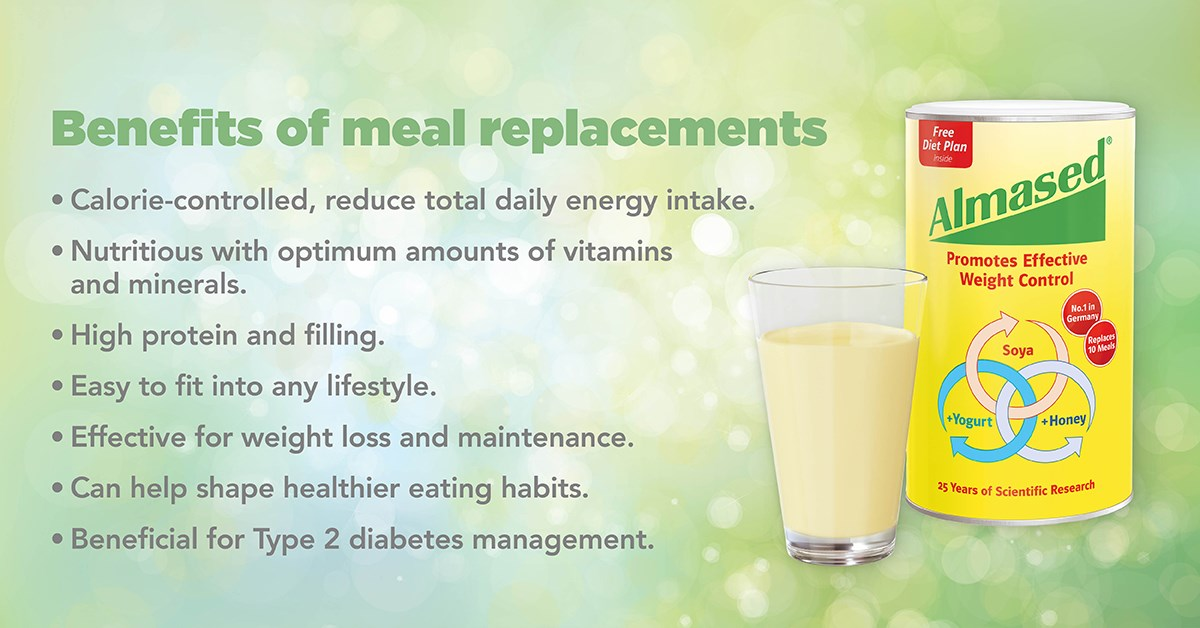 Benefits of meal replacements