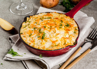 Shepherds pie with sweet potato topping