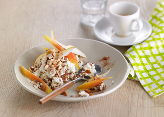 pear and nut cottage cheese